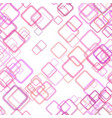 seamless geometric square pattern background vector image vector image