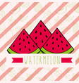 striped background with delicious fresh nature vector image vector image