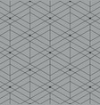 abstract geometric pattern with lines on gray vector image vector image