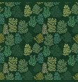 Background with stylized corals