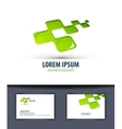 Business Logo icon emblema sign template business vector image vector image