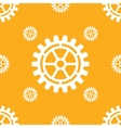 gears icons seamless patterns vector image vector image
