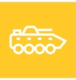 Infantry Tank vector image vector image