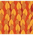 pattern of colorful leaves vector image