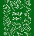 school student notebook book pencil education vector image