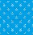 vernier caliper pattern seamless blue vector image vector image