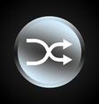 arrows button vector image