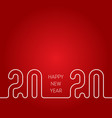 2020 happy new year cover calendar or business vector image vector image