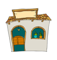 A house stand on vector image vector image