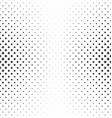 Abstract monochrome star pattern background vector image vector image