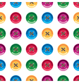 background Buttons vector image
