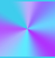 background with a blue conical gradient vector image vector image
