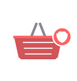 basket buy protect security shop shopping icon vector image vector image