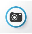 camera icon symbol premium quality isolated vector image