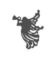 Christmas Angel icon vector image