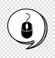 computer icon vector image vector image