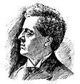 edmund j james vintage vector image vector image