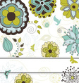 Floral and Nature Background for Your Text vector image vector image