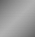 perforated metal pattern vector image vector image