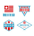 set of labels logo badges and signs made vector image vector image