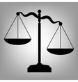 Sxales od justice sign vector image vector image