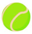 tennis ball icon cartoon style vector image