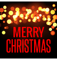 Festive bokeh background Christmas and New Year vector image