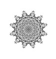 abstract circle mandala decorative element vector image