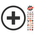 create icon with dating bonus vector image