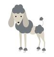 cute dog cartoon icon vector image vector image