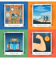 Fitness Concept Set vector image