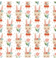 Lovely childish wallpaper in vector image vector image