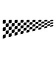 race flag design concepts icon speed flag simple vector image
