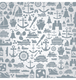 Ship a background vector image vector image