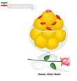 Bastani Akbar Mashti or Iranian Ice Cream vector image vector image