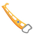 climbing equipment icon flat style vector image vector image