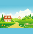 country path vector image vector image
