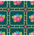 Floral background seamless floral pattern vector image vector image