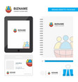 group avatar business logo tab app diary pvc vector image vector image