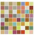 patterns mega set vector image vector image