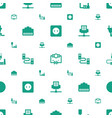 plug icons pattern seamless white background vector image vector image