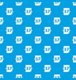 sport calendar pattern seamless blue vector image vector image