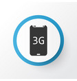 3g smartphone icon symbol premium quality vector image vector image