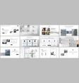 bundle editable business templates for digital vector image