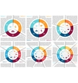 circle infographic Template for cycle vector image vector image