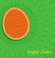 Easter greeting card EPS10 vector image vector image