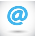 Email single icon vector image vector image