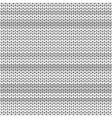 Light Gray striped knitted background vector image
