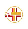 online doctor health care medical app logo icon vector image vector image