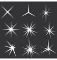 Sparkle lights Stars vector image vector image